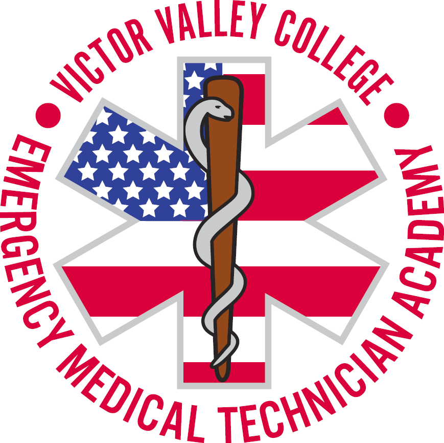 Victor Valley College Emergency Medical Technician Academy logo - click here to visit the EMT website