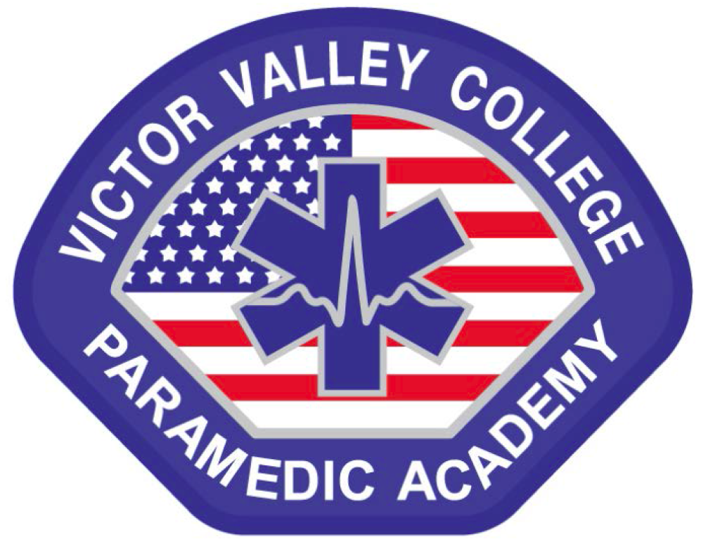 Victor Valley College Paramedic Academy logo - click here to visit the Paramedic Website