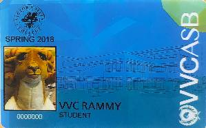 Victor Valley College Student ID Card image