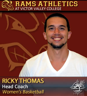 Assistant Coach Ricky Thomas - photo