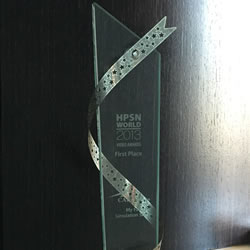 HPSN World Conference 2013 - Human Patient Simulation Network Award