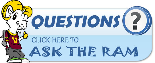Questions? Click here to Ask the Ram.  A separate window will open...