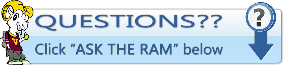 Questions? Ask The Ram below