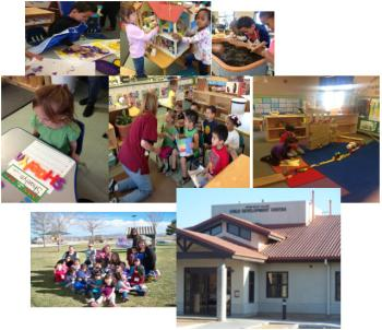 Child Development Lab Classroom - photo collage