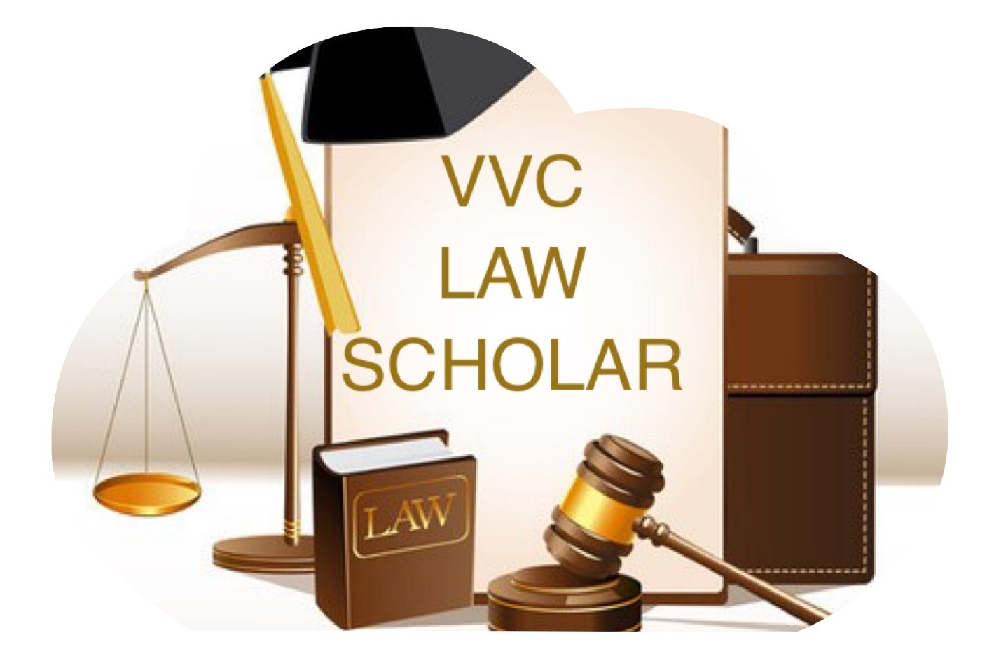 scales, gavel, words - Law Scholar