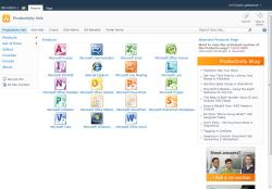 SharePoint Productivity Hub - screenshot